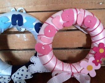 custom birth bow