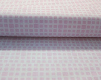 Squared Elements Tutu pink and white fabric