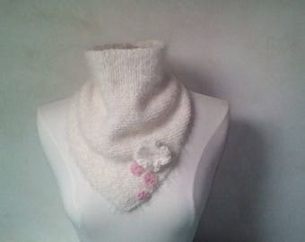 romantic and fluffy soft wool for woman snood