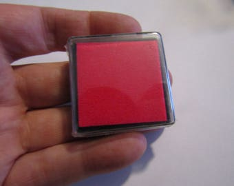 Pink ink to stamp 40mm