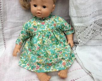 dress Liberty Betsy green doll 42 cm