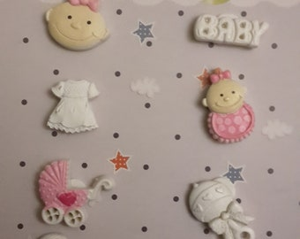 Baby girl figurines
