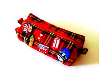"School Kit - 'London Trip!""- Royal Tartan Stewart"