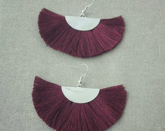 Range of tassels earrings