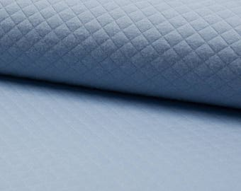 Quilted Jersey / DUSTY blue / cut 25cm
