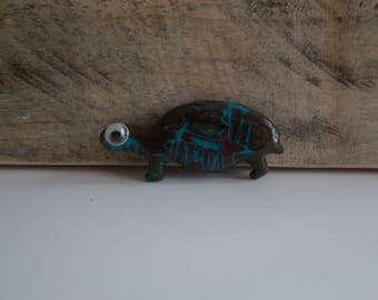 for creating polymer clay turtle cabochon