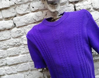 T shirt knit lightweight vintage 80's