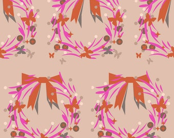 creation of printed fabrics encircled and knot patterns