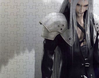 Final Fantasy VII 7 Advent Children Sephiroth A4 Puzzle - 120 Pieces