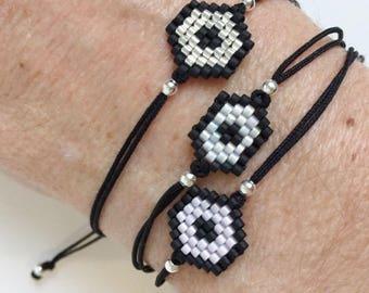 Polygon bracelet Miyuki beads