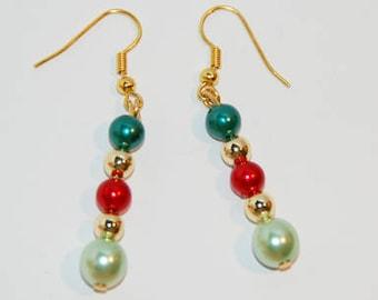 French Elegance pearl earrings