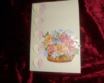 invitation card thank you or mother's day 3D