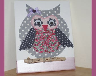 "table for girl's room ""little OWL"""