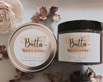 Body Butta & Scrub Combo
