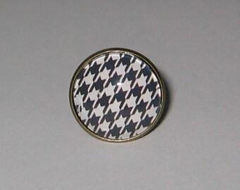 Ring cabochon 20 mm * Bon Chic good kind jewel *.