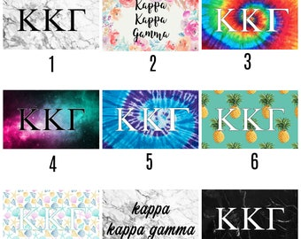 Kappa Kappa Gamma Sorority 3' x 5' Flag