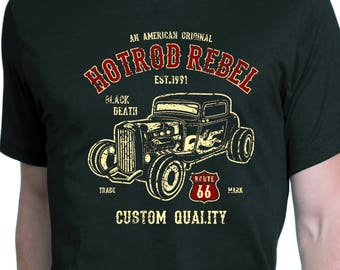 Hot rod rebel t-shirt