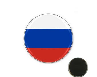 Russia flag - 25 mm Magnet magnet