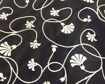 tulle color soft polyester flock black white