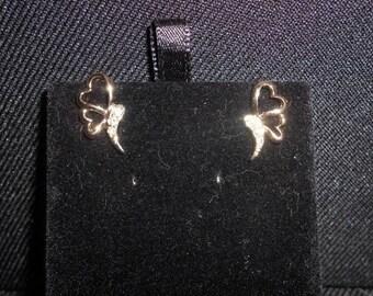 Butterfly rhinestone (resin)