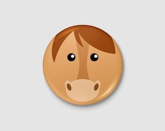 Animal - horse badge
