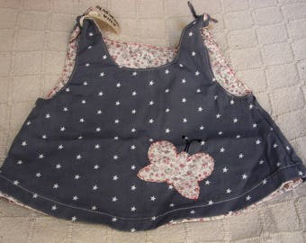 Butterfly reversible dress
