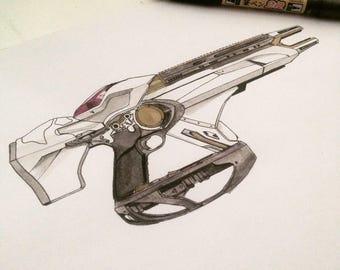 Telesto - Destiny 2 Original Illustration