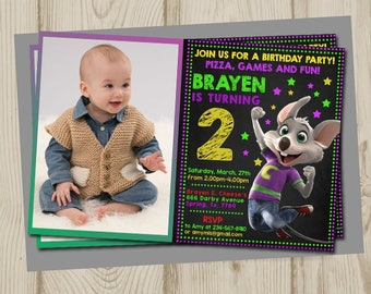 Chuck e cheese birthday, chuck e cheese invitation, chuck e cheese birthday invitation, chuck e cheese party, chuck e cheese printable