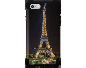 Paris Nights Collection Protective Phone Case for iPhone 5/6/7/8/SE Samsung Galaxy S5/6/7/8/Note