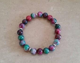 (8 mm beads) malay Jade bracelet