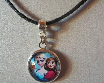 "Necklace cabochon ""Princess"" child"