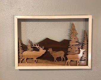 Lot 0762  Majestic Elk