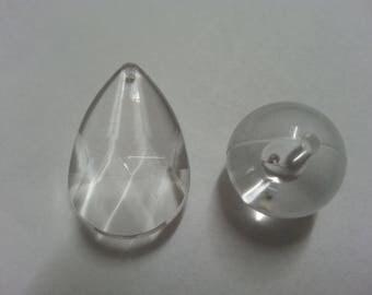 beads color transparent acrylic