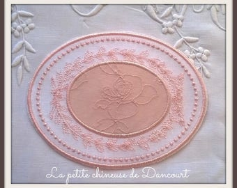 Powder Pink Medallion Romance