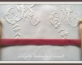 Pink Peony 16mm velvet Ribbon 2 m 645