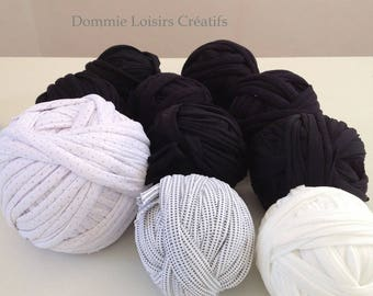 Set A 04 Trapilho 700g to 1000g multicolor yarn