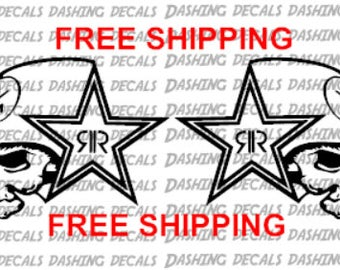 Metal Mulisha Decal Etsy - F250 decalsmulisha skullxwindow bed decal decals f f ram