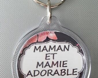 key message adorable Grandma and MOM