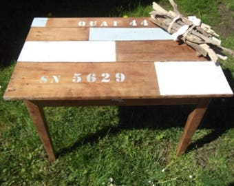 OLD ORCHARD BEACH STYLE SOLID WOOD TABLE