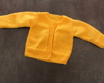 yellow jacket size 3 months