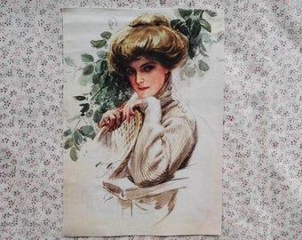 Retro Patchwork fabric coupon
