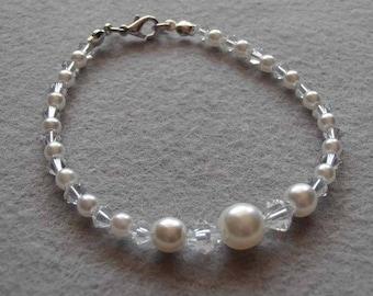 "Bracelet bride ""Diana"""