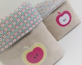 Apple ACIDULEE fabric baskets
