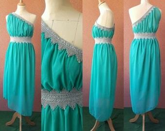 """""""One-shoulder"""" cocktail dress"""