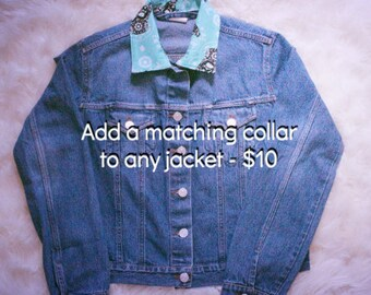 Add On - Add a matching collar