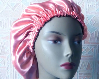 Satin beanie double lined