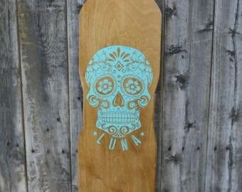 Custom Hand Made long board skateboard