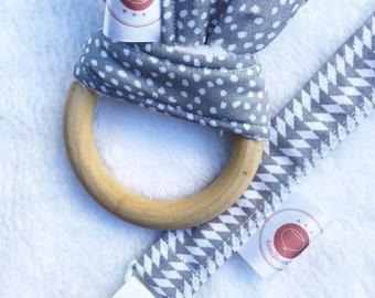Teething ring / rattle