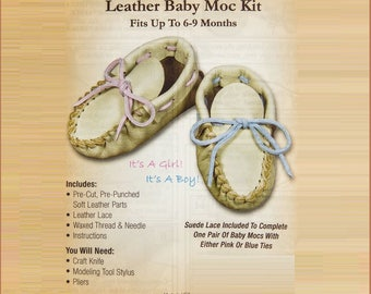 Leather Baby Moccasin Kit