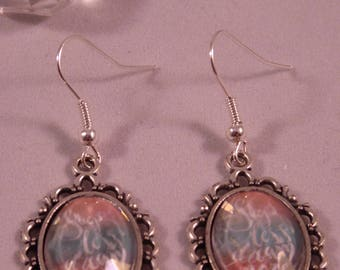 "Earrings ""dream"" to Creat the Y. O.N"